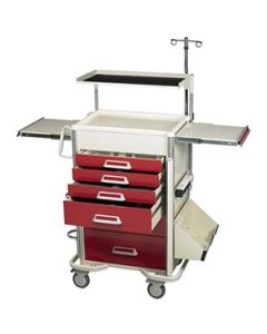 04-25-8201 6 Drawer Emergency Cart Package
