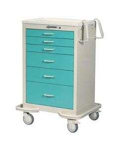 6 Drawer Standard Cart  with Push Button Lock