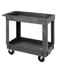 Polymer Mobile Cart 34 1/4 x 17 1/2 x 32 1/2 Inch