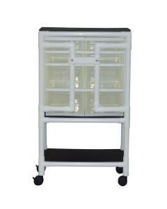 04-25-8534 Graham Field Security Supply Cart with 8 Slide Out Drawers, No Cover