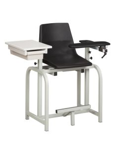 Clinton Designer Blood Drawing Chair with Drawer