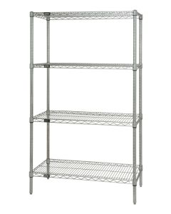 Chrome Wire Starter Shelf Unit