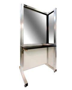04-50-1922 SimScreens™ Desk Corner Panel Left