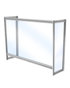 04-50-1928 Enclosed SeparationScreen 36 Inches with 3.5-in. Pass Through Window