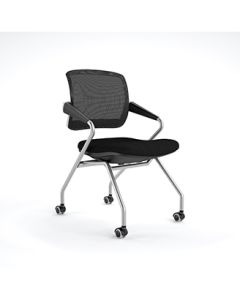 Mid Back Chair with Arms