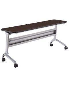04-50-3044 Flip-N-Go Table, Silver