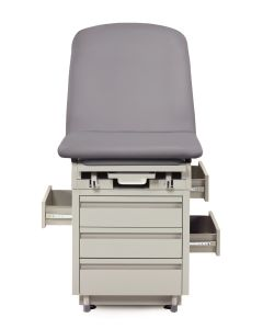 Exam Table with Three Pass Through Drawers
