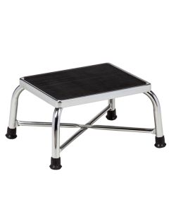 Clinton Chrome Bariatric Step Stool
