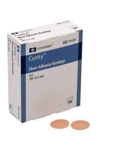 """Curity™ Sheer Adhesive Bandage - Spot - 7/8"""""""