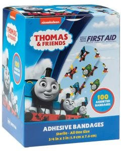 Designer and Character Adhesive Bandages, Thomas & Friends
