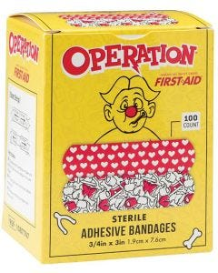Designer and Character Adhesive Bandages, Operation Board Game