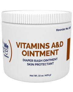 Vitamins A & D Ointment, 15 Ounce Jar