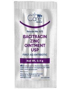 Bacitracin Zinc Ointment 0.9 Gram Pack
