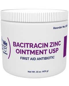 Bacitracin Zinc Ointment 15 Ounce Jar