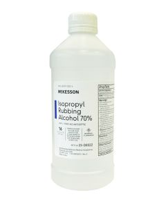 Isopropyl Alcohol 70% 16oz - (ships ORMD) | Backordered item due to Covid-19.  ETA TBD