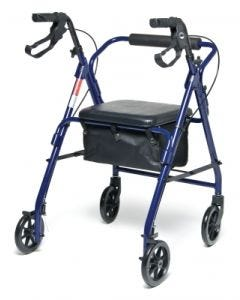 05-23-4900 Graham Field Walkabout Basic Four-Wheel Rollator