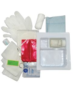 05-51-1444 Pocket Nurse® Dressing Change Tray Saline and  Stretch Gauze
