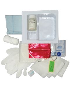 Pocket Nurse® Dressing Change Tray Saline and  Stretch Gauze
