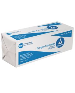 "2"" x 2""  Non-Sterile 8 Ply Gauze Pack"