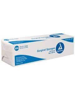 """Surgical Gauze Sponge 2"""" x 2"""" 12ply Non-Sterile"""