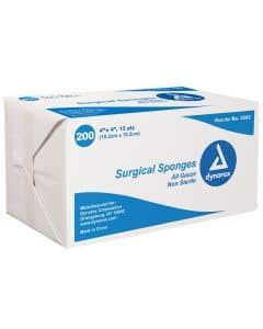"Gauze Sponge - 4"" x 4"" 12-Ply Non-Sterile"