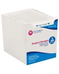 """Gauze Sponge - 2"""" x 2"""" 8-Ply Sterile 2's"""