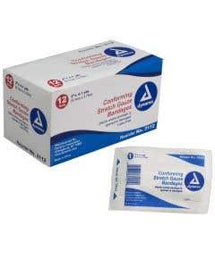 05-51-4100 Conforming Stretch Gauze Bandage Rolls Sterile