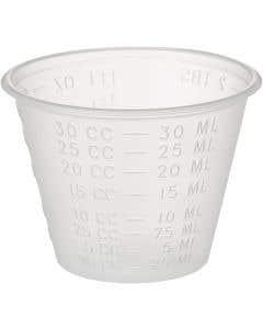 Plastic Medicine Cups 1 oz. Economy