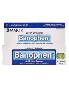 Extra Strength Banophen Cream 2% 28 Grams