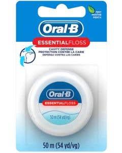 Oral B Dental Floss, Waxed, Mint