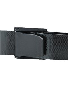 05-76-6545 Posey® E-Z Clean Economy Gait Belt Fits Waist Size Up To 58 Inch Black