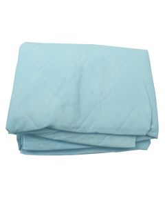 Disposable Blue Non Woven Blanket - 44in x 84in