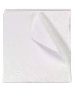 """Drape Sheet 2 Ply 40"""" x 48"""" - White,"""