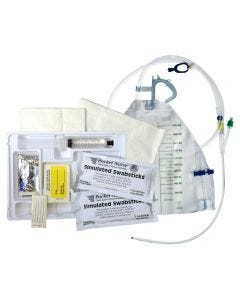 05-87-2002 Pocket Nurse® Latex-Free Closed Insert Foley Tray, Non-Sterile