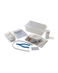 05-87-7500 Dover™ Open Urethral Tray with Vinyl Catheter - 14FR
