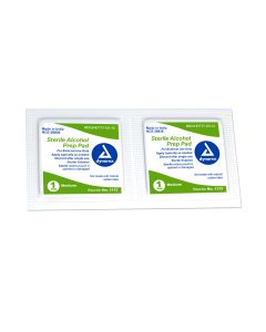 Alcohol Prep Pad Medium Sterile - 10/Pack