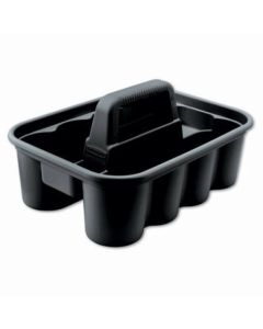 Rubbermaid Commercial Deluxe Carry Caddy - Black
