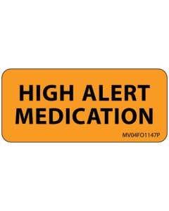 High Alert Labels