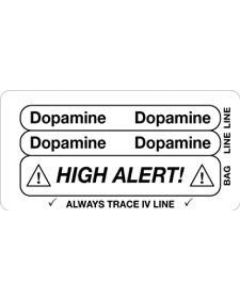 Dopamine/High Alert Piggyback Label