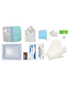 Pocket Nurse® Central Line Change Tray with Transparent Dressing