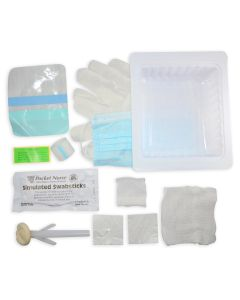 Pocket Nurse® Central Line Dressing Tray with ChloraPrep® - (ships ORMD)
