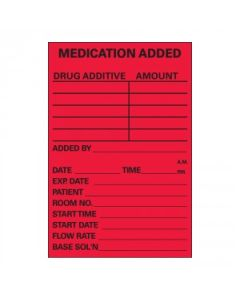 Multi-Medication Added Label