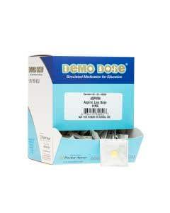 06-93-0050P Demo Dose® Acetylsalicylc Acd (Aspirn) 81 mg