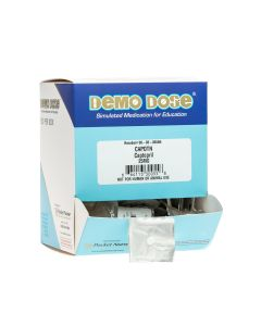 06-93-0055 Demo Dose® Capotn 25 mg - 100 Pills/Box