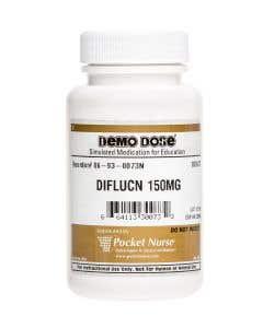 Demo Dose® Diflucn 150 mg - 100 Pills/Bottle