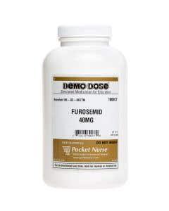 Demo Dose® Furosemd 40 mg - 1000 Pills/Jar