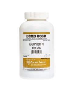 06-93-0082 Demo Dose® Ibuprofn 400 mg - 1000 Pills/Jar