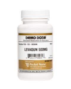 Demo Dose® Levaqun 500 mg - 100 Pills/Bottle