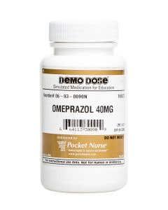 Demo Dose® Omeprazol 40 mg - 100 Pills/Bottle
