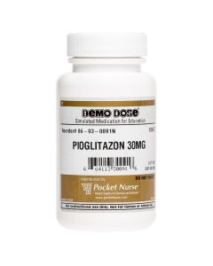 06-93-0091 Demo Dose® Pioglitazon 30 mg - 100 Pills/Bottle